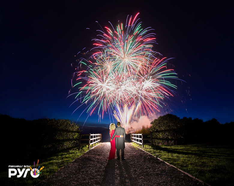 Professional Wedding Fireworks Displays