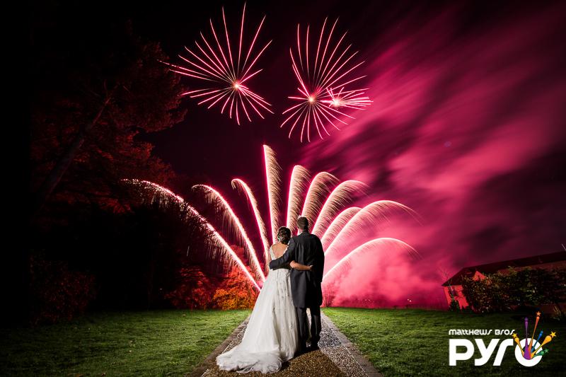 Hogarths Hotel Wedding Fireworks